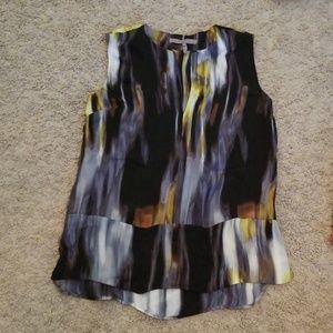 Halston Heritage silk blouse. Small